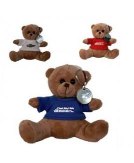 Plush Bear Key Tag