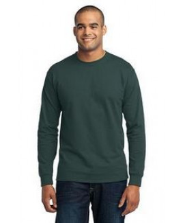 Port & Company® Men's Long Sleeve Tall Core Blend T-Shirt