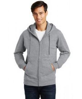 Port & Company® Fan Favorite™ Fleece Full-Zip Hooded Sweatshirt