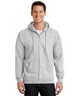 Port & Company® Men's Essential Fleece Full-Zip Hooded Sweatshirt