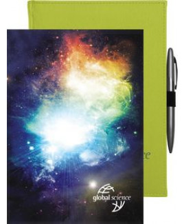 """Pedova BrightWave™ Journal w/Full-Color Tip-In (7""""x9.5"""")"""