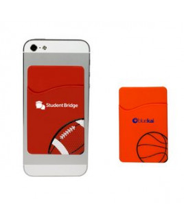 Sport Theme Silicone Pocket Sleeve