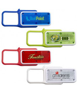 Carabiner Whistle Safety Light
