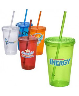 Super Value 20 Oz. Sipper Tumbler