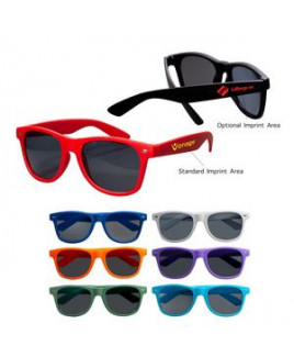 Rubberized Finish Fashion Sunglasses