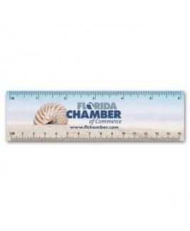 Plastic Ruler / Bookmark - 10 mil