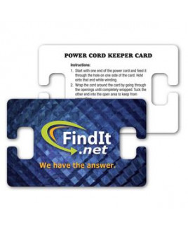 Power Cord Winder / Wallet Card