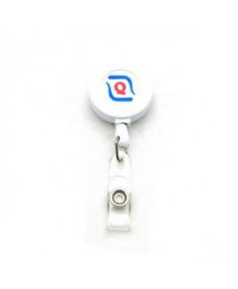 Air Imported Pad Printed Color Badge Reel