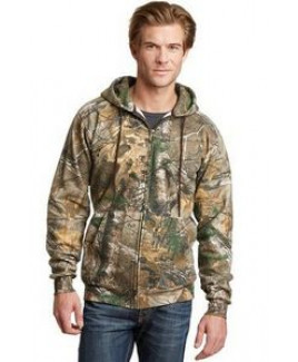 Russell Outdoors™ Realtree® Full Zip Hooded Sweatshirt