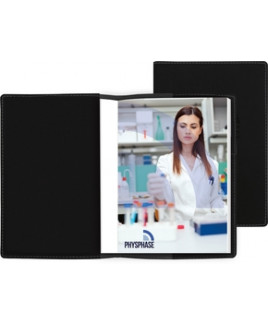 """Revello™ Refillable Journal w/Full Color Tip-In Page (5""""x7"""")"""