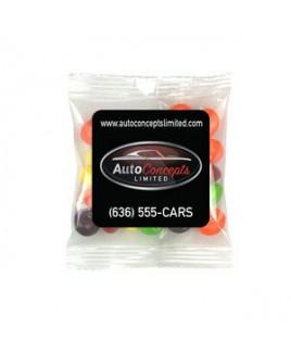 Square Magnet w/Mini Bag of Skittles®