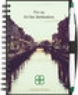 """SlimLine Color™ - Large Jotter w/PenPort & Pen (ValueLine) (4""""x6"""")"""