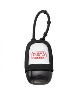 1oz Hand Sanitizer w/ Silicone Carrier