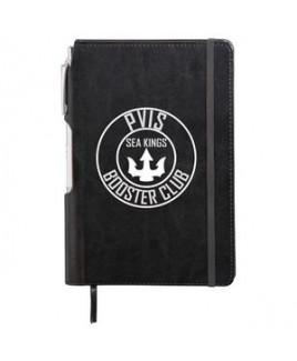 "6"" x 8.5"" Viola Bound Notebook with Pen"