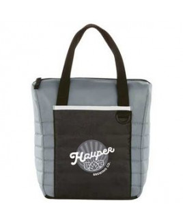 Quilted 12-Can Lunch Cooler