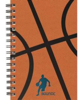 "Wire-Bound Sports Books - Seminar Pad (5.5""x8.5"")"