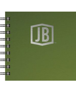 """Deluxe Cover Cover Series 3 Square NoteBook (5""""x5"""")"""