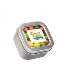 Skittles® in Sm Square Window Tin