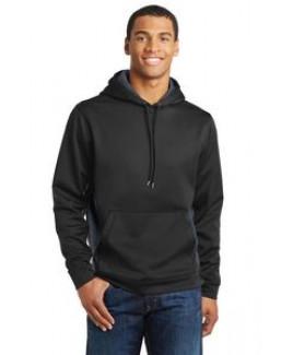 Sport-Tek® Men's Sport-Wick® CamoHex Fleece Colorblock Hooded Pullover