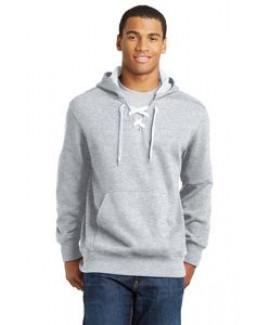 Sport-Tek® Men's Lace Up Pullover Hooded Sweatshirt