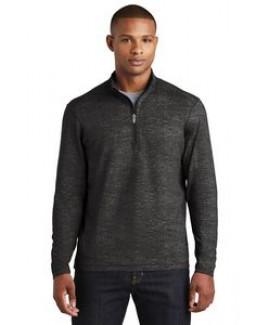 Sport-Tek® Sport-Wick® Stretch Reflective Heather 1/2-Zip Pullover Jacket