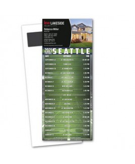 Football Schedule Magnetic Stick Up Card