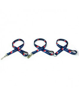 """Air Imported 1/2"""" Digitally Sublimated Lanyard"""