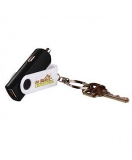 Key Chain USB Car Adaptor