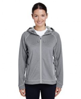 Team 365® Ladies' Excel Mélange Performance Fleece Jacket
