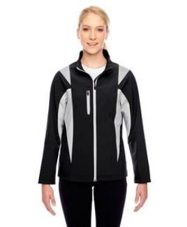 Team 365® Ladies' Icon Colorblock Soft Shell Jacket