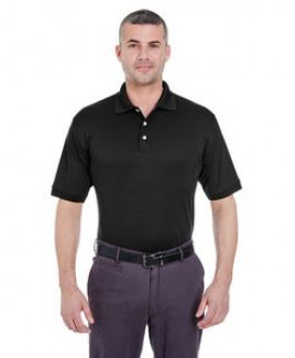 ULTRACLUB Men's Platinum Performance Piqué Polo with TempControl Technology