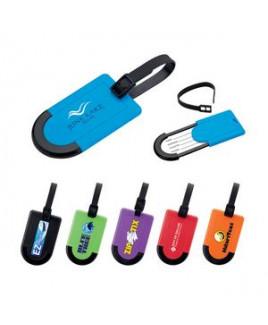 Luggage Tag w/ Plastic Casing