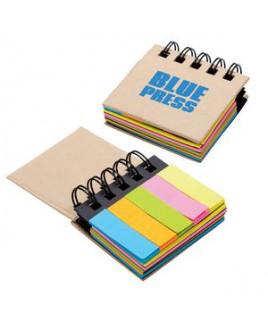 Regency Sticky Notes & Flags Notebook