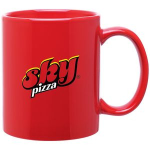 11 Oz. C-Handle Mug (Red)