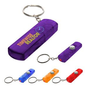 Whistle, Light And Compass Key?Chain