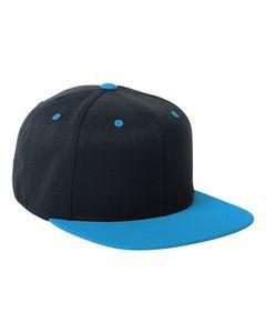 One Ten® Flexfit® Adult Wool Blend Snapback Two-Tone Cap