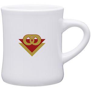 10 Oz. Diner Mug (White)