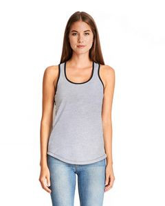NEXT LEVEL APPAREL Ladies' Ideal Colorblock Racerback Tank