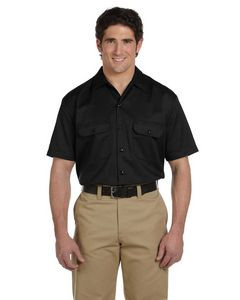 Williamson-Dickie Mfg Co Men's 5.25 oz./yd² Short-Sleeve Work Shirt
