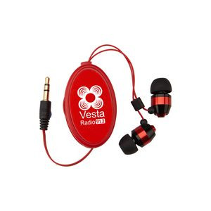 Heavy Metal Retractable Earbuds