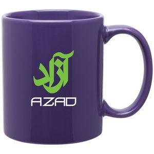 11 Oz. Purple C-Handle Mug