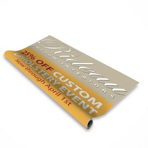 "36"" Change Agent Retractor Banner (No-Curl Opaque Fabric)"