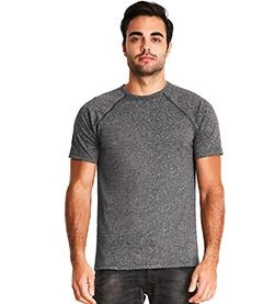 Next Level Men's Mock Twist Short-Sleeve Raglan T-Shirt