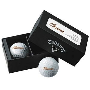 Callaway® 2 Ball Business Card Box - HEX Warbird™