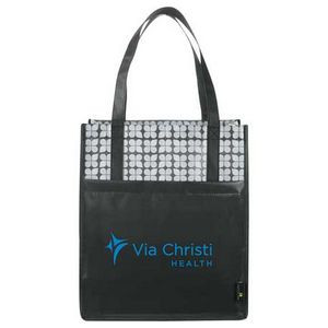 Big Grocery Laminated Non-Woven Tote