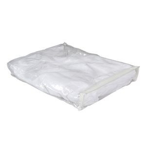Zip-Up Clear Poly Bag