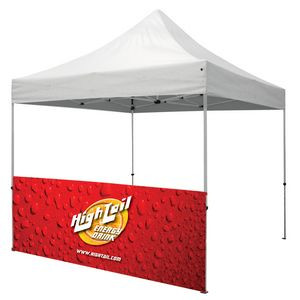 10' Half Wall for Event Tents (2-Sided, Dye Sublimation)