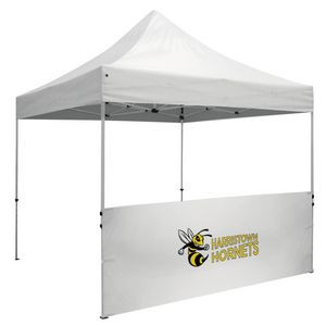 10' Standard Tent Half Wall Kit (Full-Color Imprint)