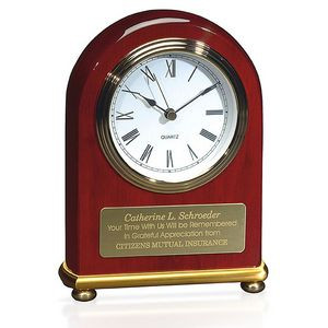 Jaffa® Rosewood Arch Clock