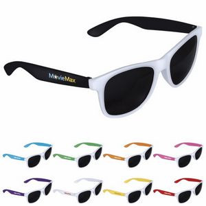 GoodValue® Two-Tone White Frame Sunglasses